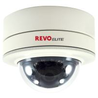 REVO America REVDM700-2 REVO America Elite 700 TVL Indoor/Outdoor Mini Vandal Proof Dome Surveillance Camera (White)