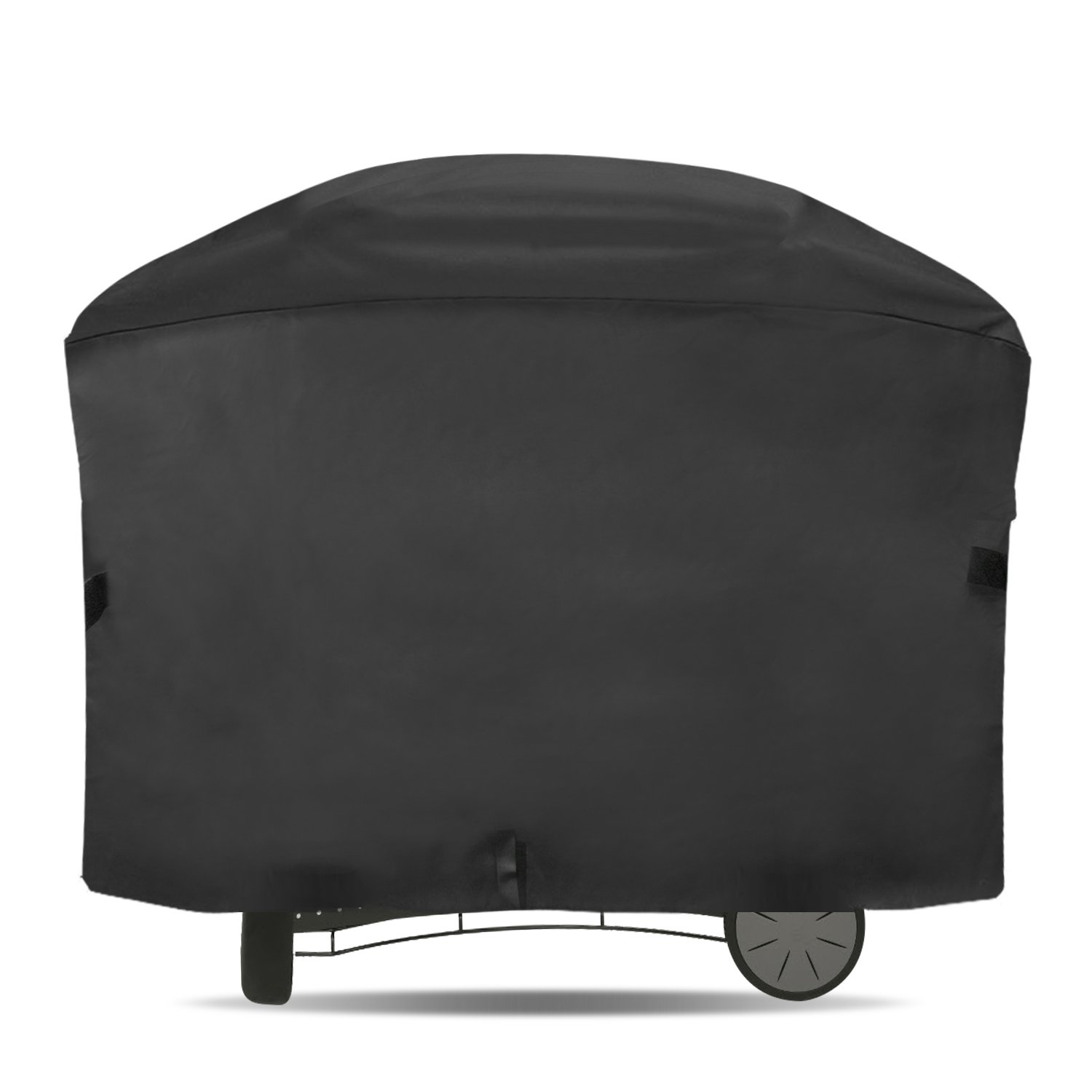 """Onlyfire 57-inch BBQ Gas Grill Cover Fits for Weber Q 2000 and 3000 Series Gas Grill Char-Broil Nexgrill Brinkmann and More(57""""L22.5""""W39""""H)"""