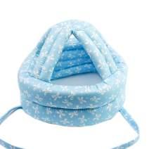 Ewanda store Toddler Infant Baby No Bumps Head Helmet Safety Helmet Children Headguard Head Cushion Bumper Bonnet,S,Blue Butterfly