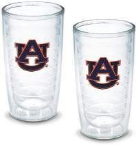 Tervis 1005819 Auburn University Emblem Tumbler, Set of 2, 16 oz, Clear