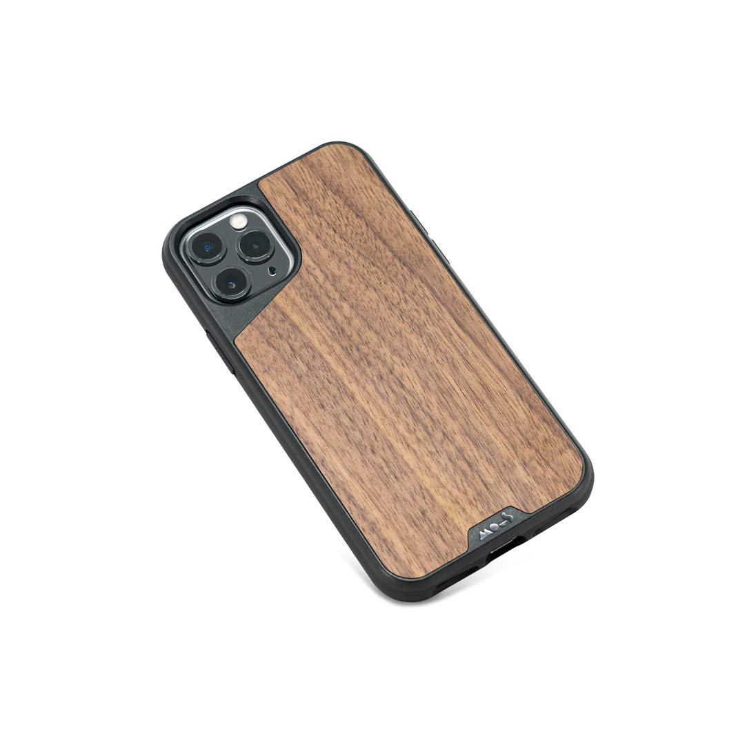 MOUS - Protective Case for iPhone 11 Pro - Limitless 3.0 - Walnut - No Screen Protector