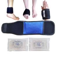 "3"" x 5"" Extra Small Mini Hot and Cold Therapy Compress Gel Wrap Plantar Fasciitis (1)"