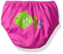 KIKO & MAX Girls' Absorbant Reusable Swim Diaper