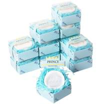 AIXIANG 12 Pack Handmade Prince Blue Crown Style Soap Favors for Baby Shower Favors Baby Birthday Decorations for Boy