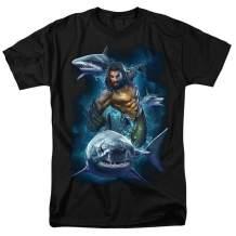 Aquaman Movie Jason Mamoa Sharks T Shirt & Stickers