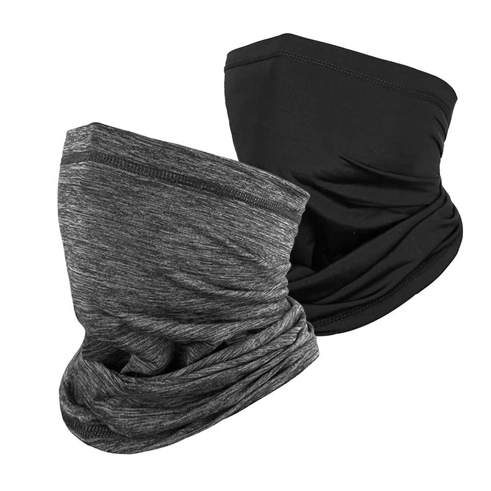 Susclude Unisex Summer Seamless Bandana Face Mask Neck Gaiter Scarf Balaclava Headwear for Fishing Cycling