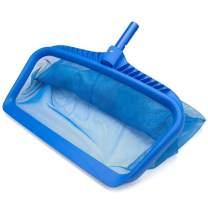 Oun Nana Pool Leaf Rake Net 21.6 inch Pool Skimmer Net with Deep Net Bag for Cleaning Swimming Pool Pond Leaves