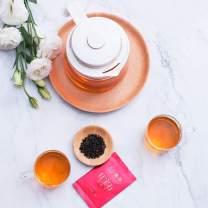 Organic Black Tea Bags,English Breakfast Tea,Full Leaf Tea Rolled Into Small Tea Pearls,Pure Unblended Black Tea Bags,Chinese Tea,Organically Grown,30 count