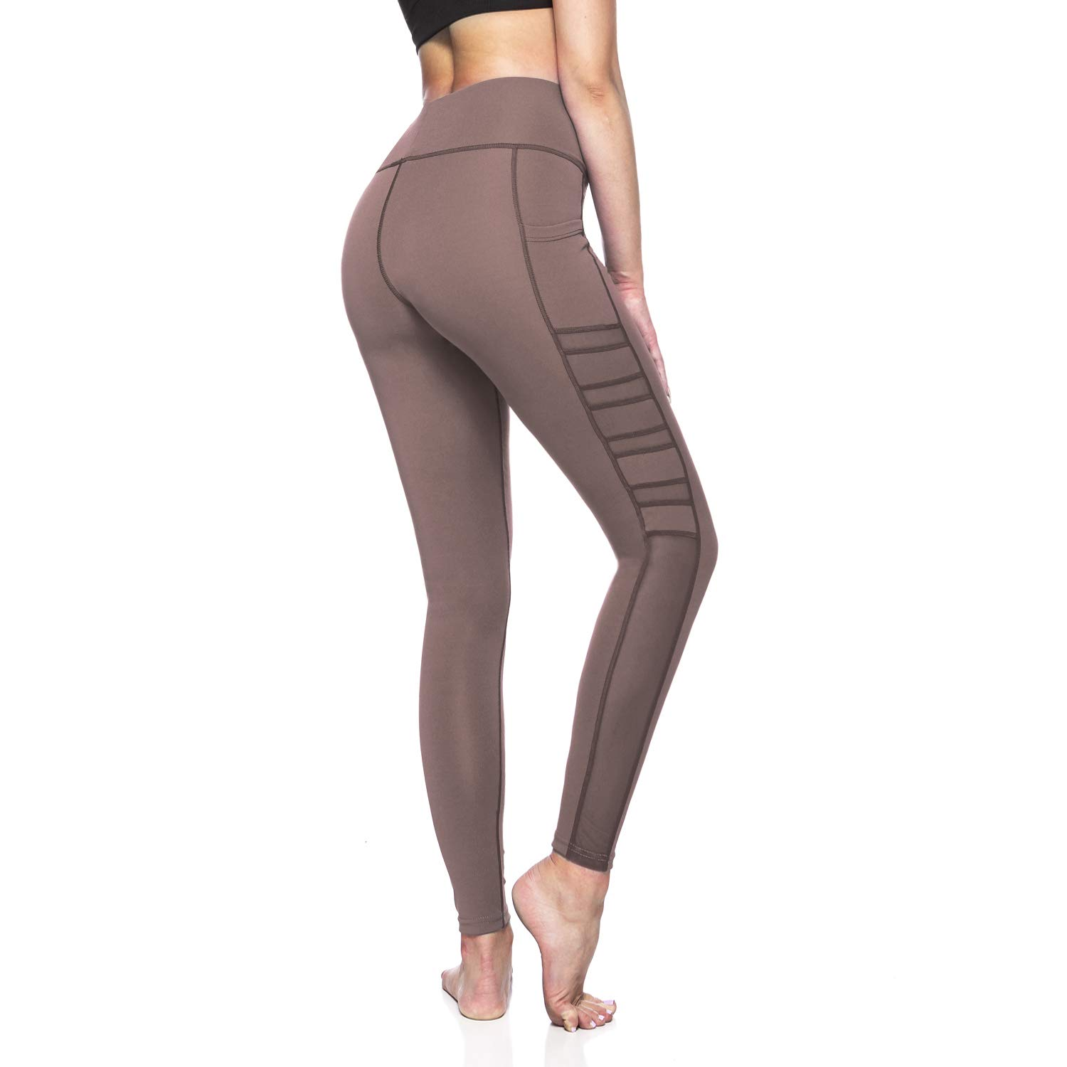 VALINNA Women's Leggings Yoga Pants with Pockets High-Waist Tummy Control for Workout Running Exercise Sports Fitness Gym