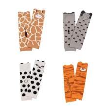 Cartoon Unisex Baby Socks Knee High Boys Girls Leg Warmer Animal Infant Toddler Kneepads Socks