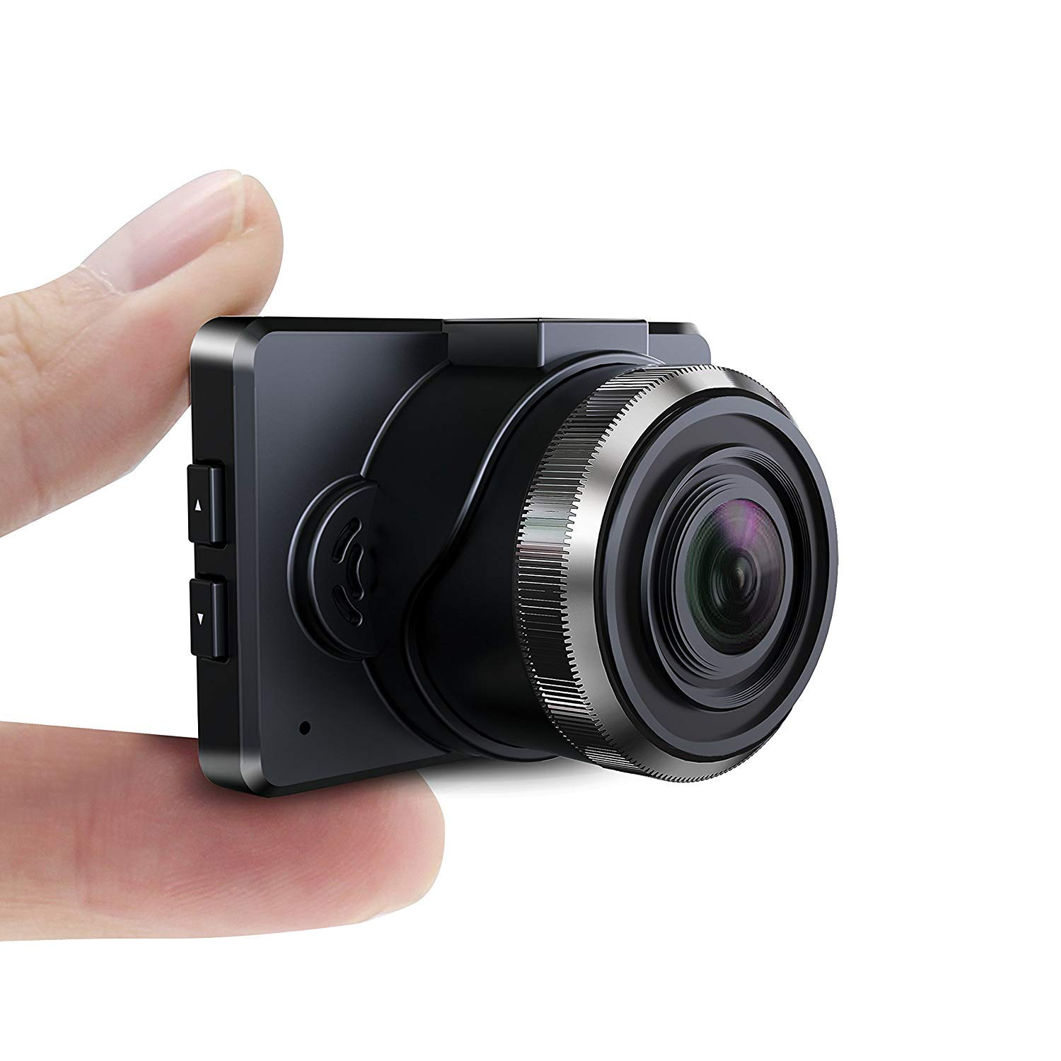 """Dash Cam for Cars, PORTOCAM T17 1.5"""" LCD HD 1080P 140° Wide Angle Mini Car Dashboard Camera with G-Sensor, Loop Recording and Night Vision, SD Card Not Included"""