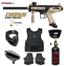 Maddog Tippmann Cronus Tactical Beginner Protective HPA Paintball Gun Package