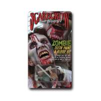 Scarecrow Zombie Teeth Paint and Mouth Blood Kit
