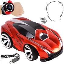 NiGHT LiONS TECH Creative Rechargeable Voice RemoteControl Car, Command by Smart Watch Super Action/Light Effects and Sound , Party Interactive Game smart car for kids boys Christmas gift
