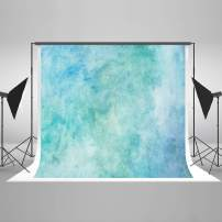 Kate10ft(W) x6.5ft(H) Blue Portrait Photography Backdrop Watercolor Abstract Photo Background Grunge Photo Studio Props for Photography Free Wrinkles Cotton Cloth Props