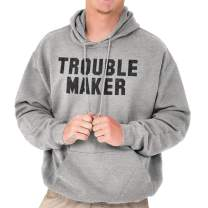 Trouble Maker Rebel Novelty College Party Hoodie