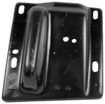 Sherman Replacement Part Compatible with Dodge Pickup Front Passenger Side Bumper Bracket (Partslink Number CH1067131)