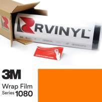 3M 1080 G54 Gloss Bright Orange 5ft x 28ft W/Application Card Vinyl Vehicle Car Wrap Film Sheet Roll