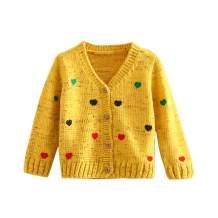 Mud Kingdom Girls Cardigan Sweaters Cute Colorful Love