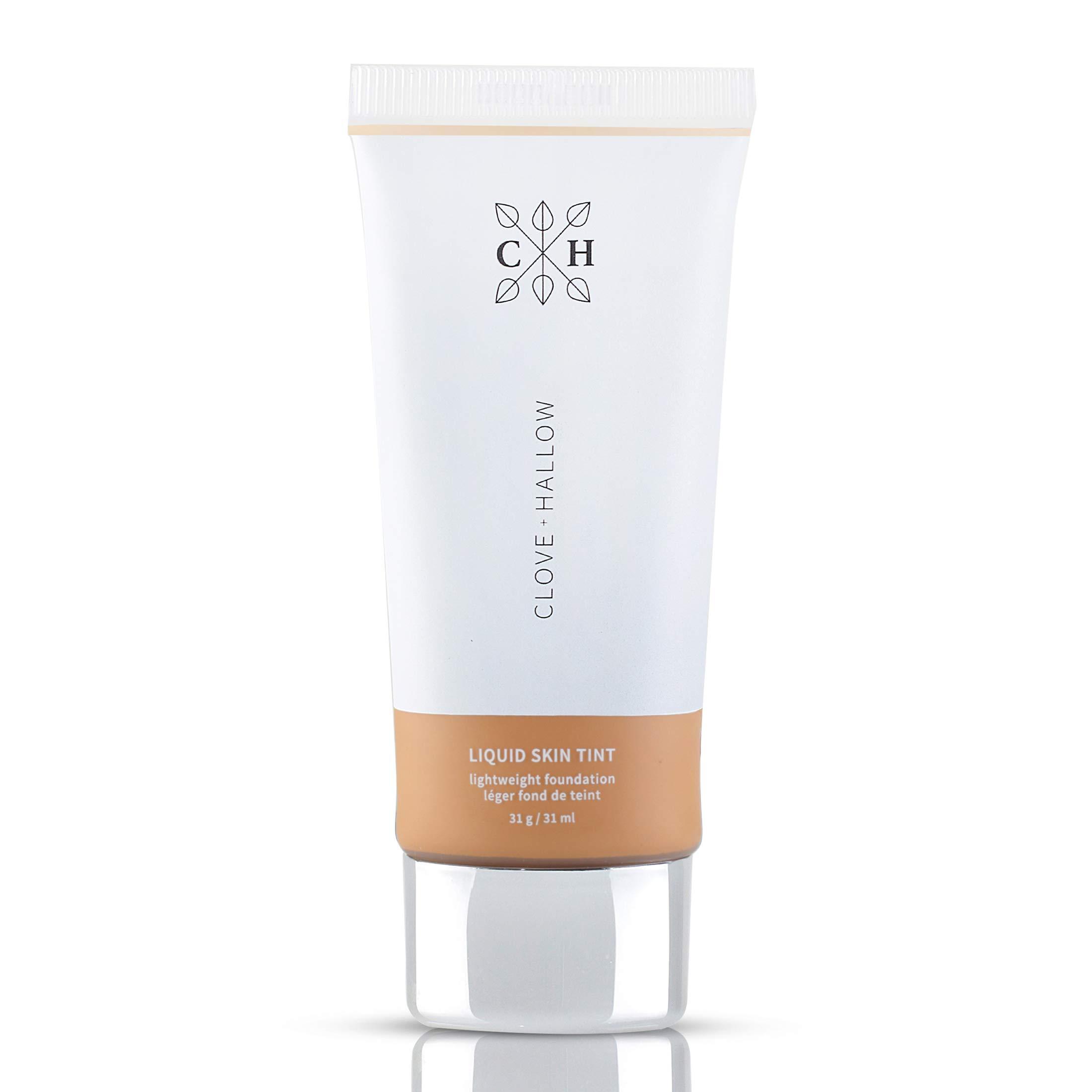 CLOVE + HALLOW Liquid Skin Tint Liquid Foundation Organic Makeup-09