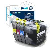 LCL Compatible Ink Cartridge Pigment Replacement for Brother LC3019 LC3017 XXL LC3019BK LC3019C LC3019M LC3019Y MFC-J5330DW J6530DW J6930DW J6730DW (4-Pack Black Cyan Magenta Yellow)