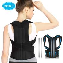 Posture Corrector for Men and Women,Increases Support for Shoulder|Back and Lumbar to Providing Stability and Comfortable to Hold Shoulders Back to Correct Posture.Waist Size 33-35