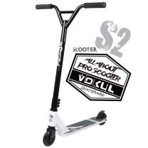 """VOKUL Pro Stunt Scooter with Stable Performance - Best Entry Level Trick Freestyle Pro Scooter for Age 7 Up Kids,Boys,Girls - CrMo4130 Chromoly Bar - Reinforced 20"""" L4.1 W Deck"""