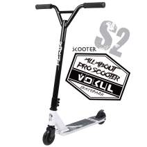 "VOKUL Pro Stunt Scooter with Stable Performance - Best Entry Level Trick Freestyle Pro Scooter for Age 7 Up Kids,Boys,Girls - CrMo4130 Chromoly Bar - Reinforced 20"" L4.1 W Deck"