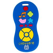 Silli Chews Chewmote Remote Control Baby Teether Blue Infant Safe Silicone Teething Toy