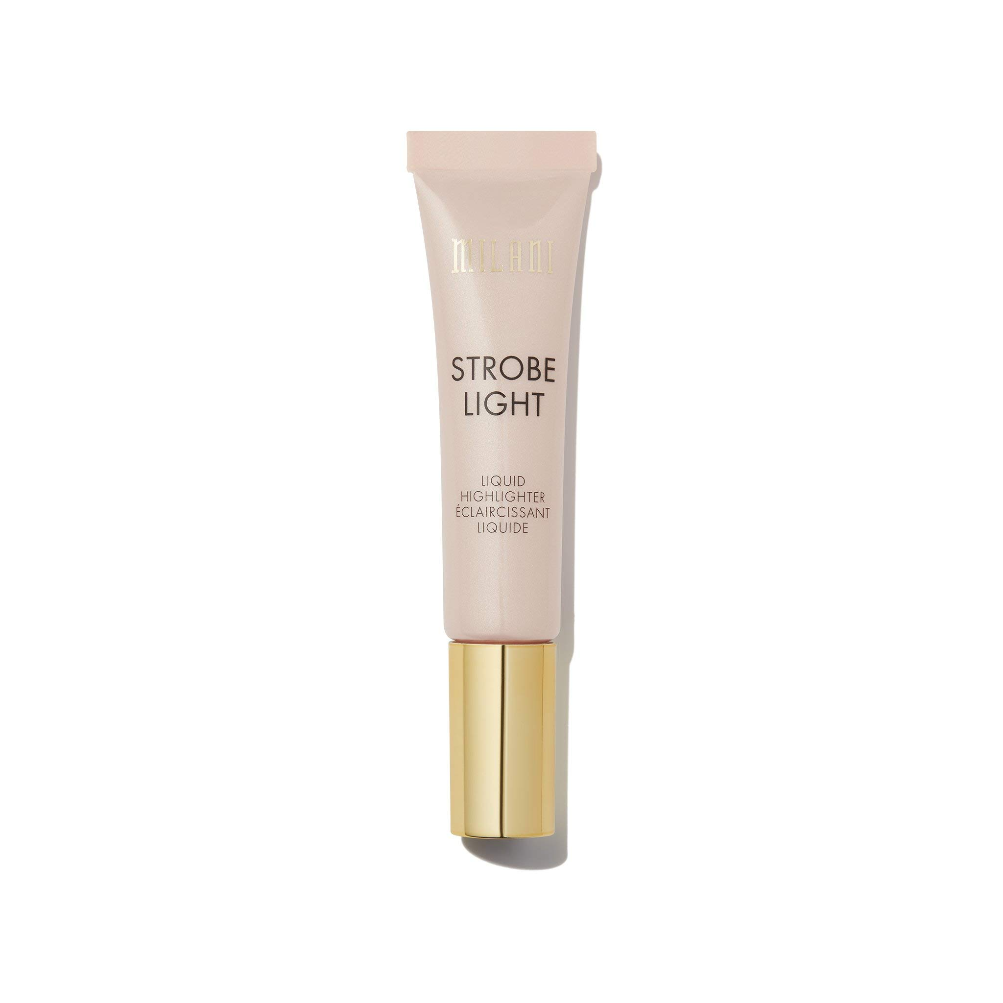Milani Strobe Light Liquid Highlighter - After Glow (0.42 Fl. Oz.) Cruelty-Free Face Highlighter - Shape, Contour & Highlight Face with Liquid Shimmer Shades