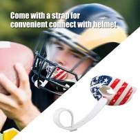 JUNMAO Football Mouth Guard,Protection Dental Guard,Oxygen Lip Protector&Max Airflow,Offers Lip Protection,Breathable & Comfortable,One Size Fits Most