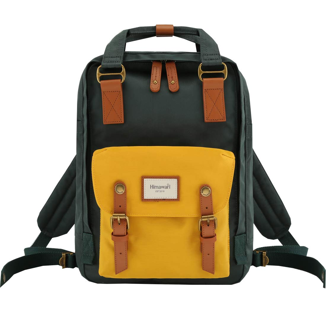 "Himawari School Waterproof Backpack 14.9"" College Vintage Travel Bag for Women,14 inch Laptop for Student (HM-56#)"
