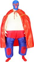 Lucha Libre Mexican Wrestler Chub Suit Adult Costume