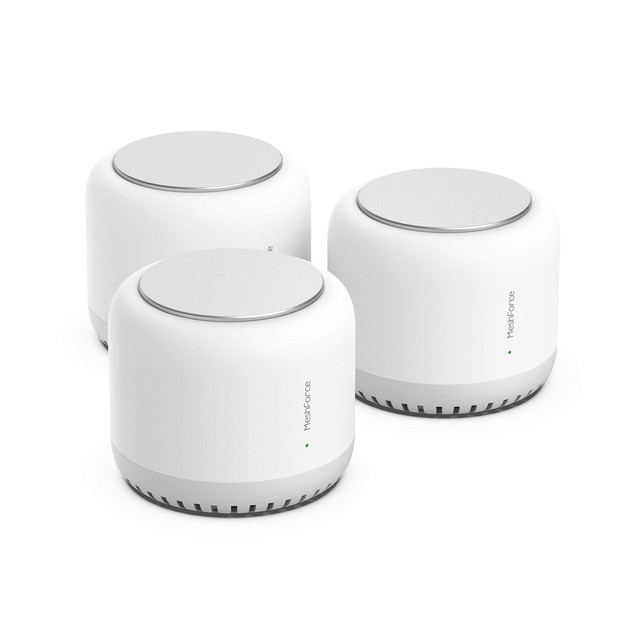 Meshforce M7 Tri-Band Whole Home Mesh WiFi System (3 Pack), Gigabit Mesh WiFi Routers, Seamless High Performance Wireless Covers 7+ Rooms and 75+ Devices