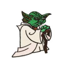 Star Wars Patch for Jacket 1 pcs Military Morale Sew On/Iron On Patches Clothes Dress DIY Accessory (Master Yoda 2)
