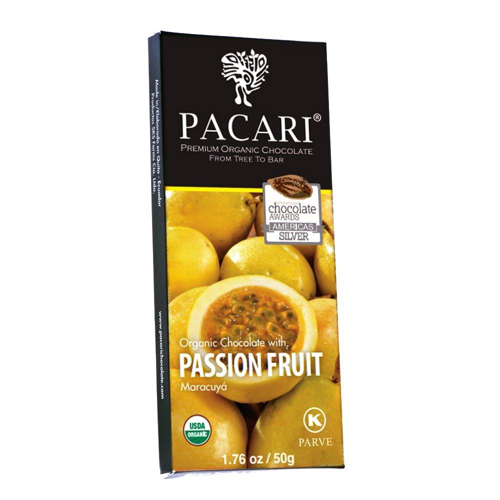 Pacari Passion Fruit Organic Chocolate Bar