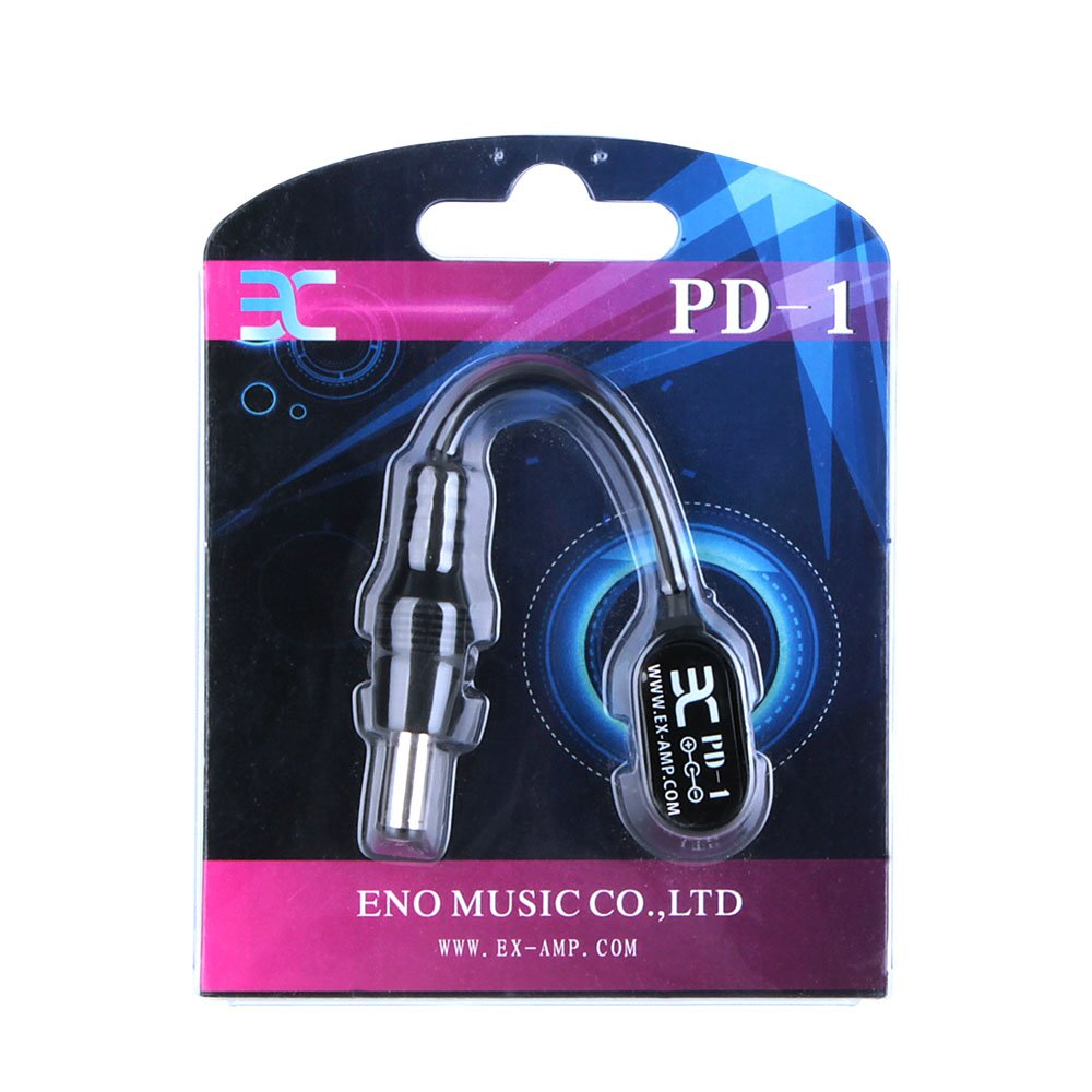 ENO EX PD-1 Male DC Power Plug to 9V Battery Button Connector Cable