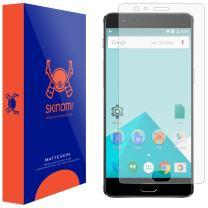 Skinomi Matte Screen Protector Compatible with OnePlus 3T Anti-Glare Matte Skin TPU Anti-Bubble Film