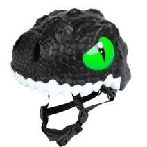 animiles Kids Bike Helmet Toddler Helmet Adjustable 3D Shark Bicycle Helmets for Kids 3-8