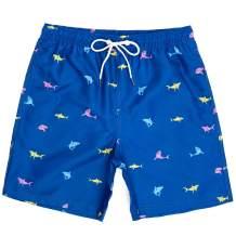 WavingSpark Mens Swim Trunks Quick Dry Funny Swim Shorts with Mesh Lining Swimming Trunks for Men