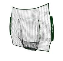 PowerNet Team Color Nets Baseball and Softball 7x7 Bow Style (NET ONLY) Replacement | Team Colors | Heavy Duty Knotless | Durable PU Coated Polyester | Double Stitched Seams for Extra Strength