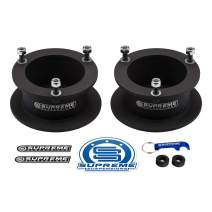 "Supreme Suspensions - 3"" Front Leveling Kit for 1994-2013 Dodge Ram 2500 3500 and 1994-2001 Dodge Ram 1500 High-Strength Steel Spring Spacers Lift Kit 4WD"