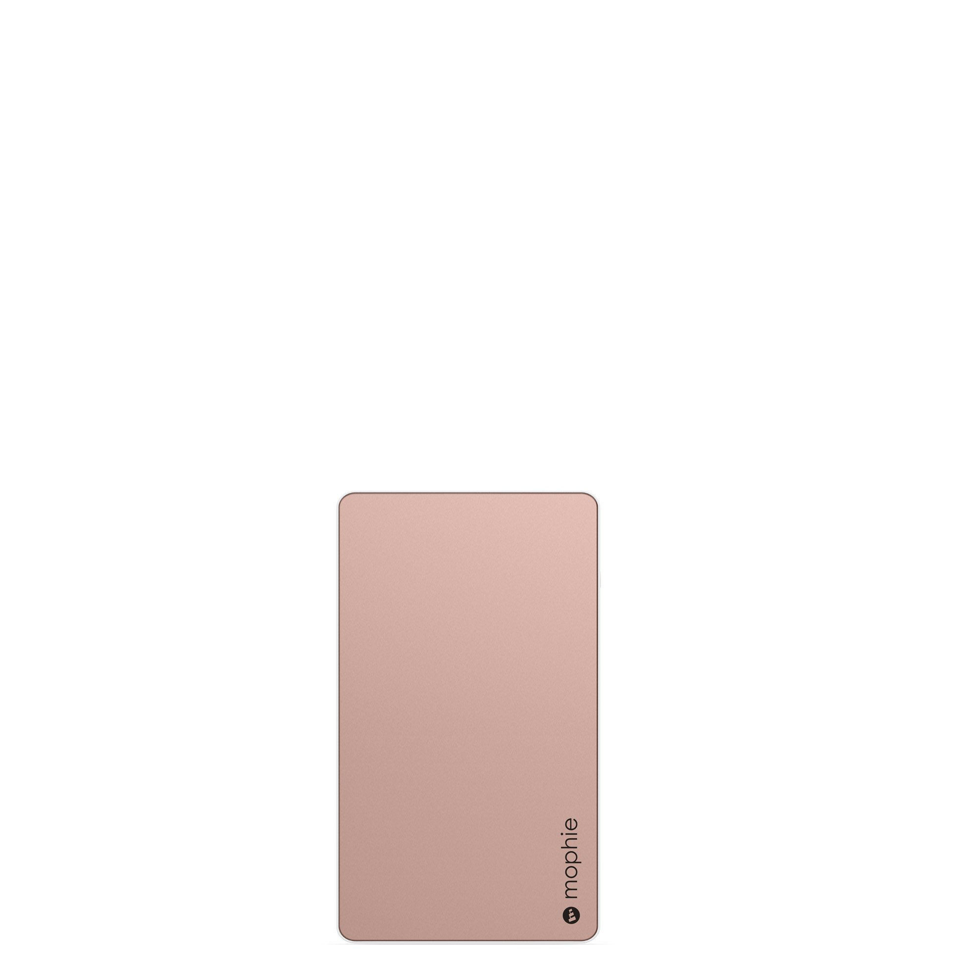 mophie PowerStation - Universal External Battery - Made for Smartphones and Tablets (6,000mAh) - Rose Gold