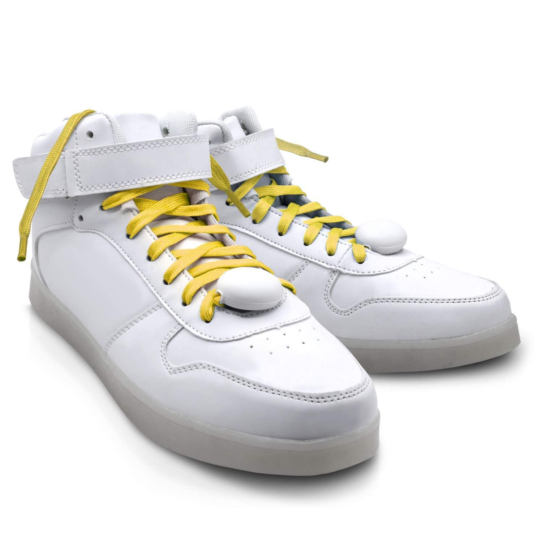 LED Shoelaces Luminous Nylon Flashing Modes EDM Festival Party Dancing Shoelaces for Boys Girls
