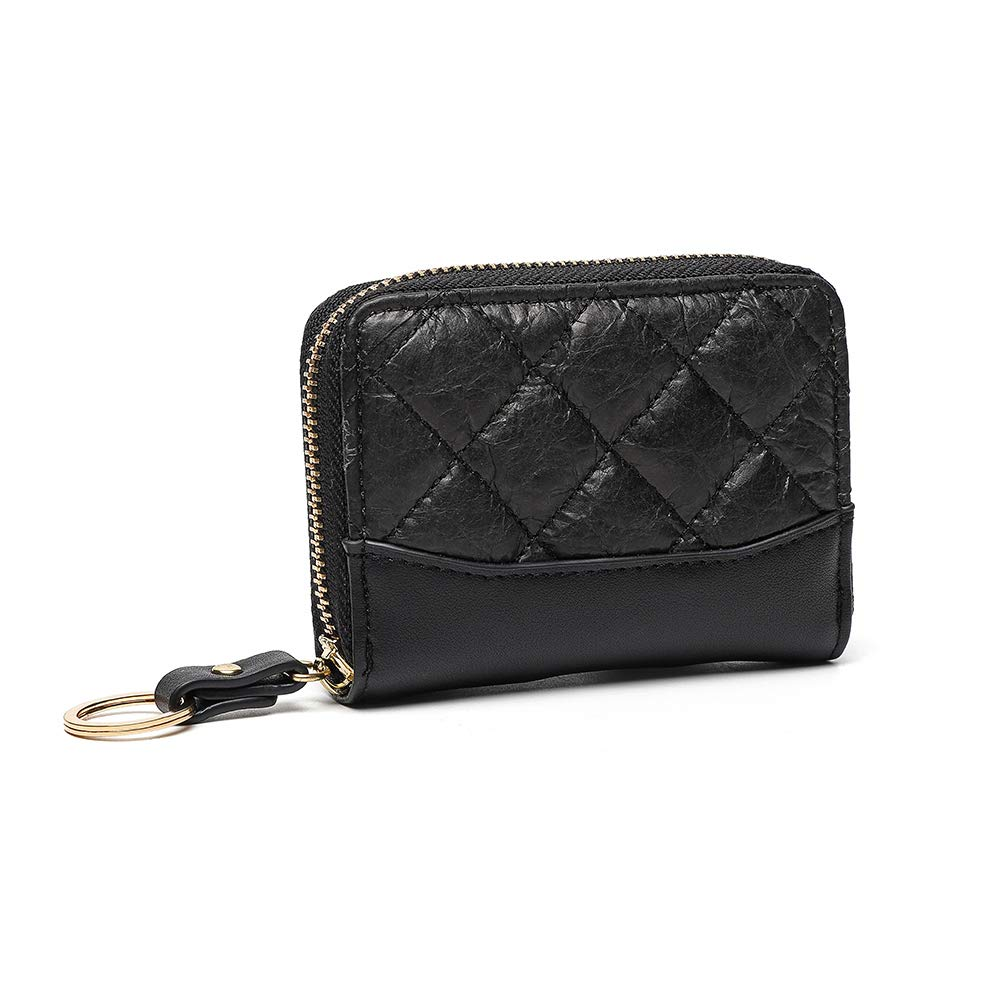 Tanpie Women's Wallets Fashion Credit Card Slots Coin Purse with Key Chain