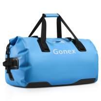 Gonex 40L 60L 80L Waterproof Duffel, Durable Travel Dry Duffle Bag for Camping Kayaking Boating Rafting Fishing Outdoor Adventure