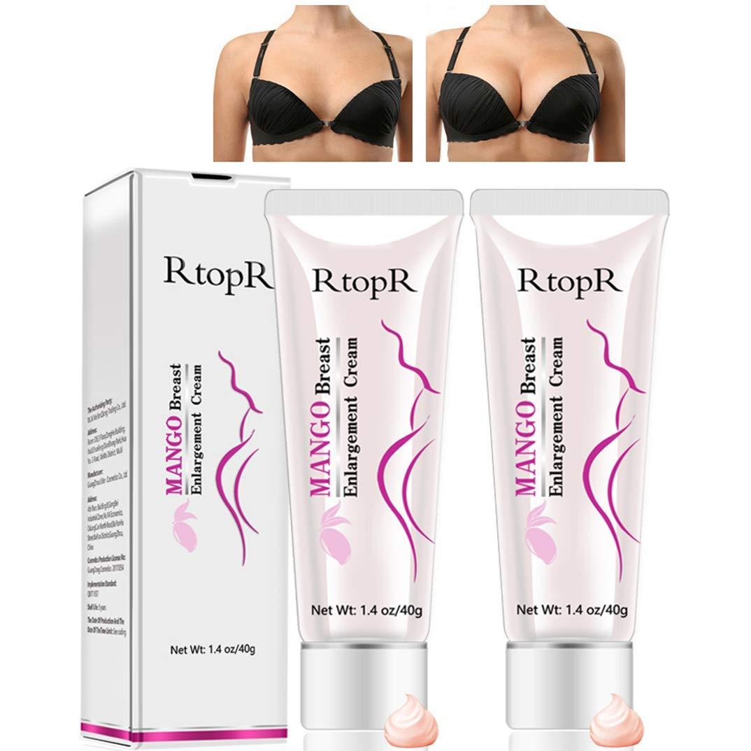 2 Pack Breast Enlargement Cream Petansy MANGO Must Up Breast Cream Massage Breast Firming Tightening Big Boobs Bigger Bust for Women