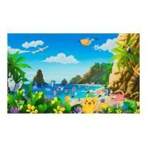 Kaufman Pokemon Beach Theme 26'' Panel  Multi Fabric