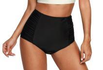Solid/Floral Ruffle Summer Beach Swim Push Up Tops Pin Up Swimwear