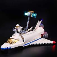 BRIKSMAX Led Lighting Kit for Creator Space Shuttle Explorer - Compatible with Lego 31066 Building Blocks Model- Not Include The Lego Set
